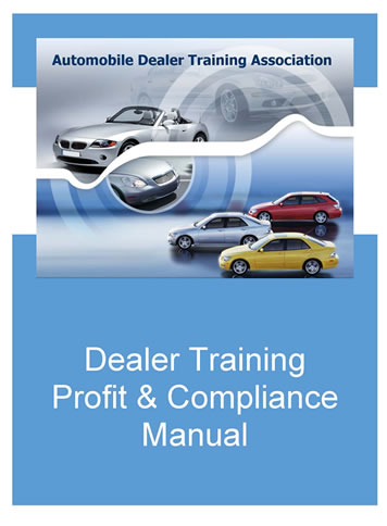 Dealer Training Manual
